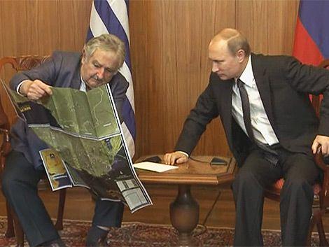 Mujica a Putin: Uruguay es un país pequeño en una gran esquina
