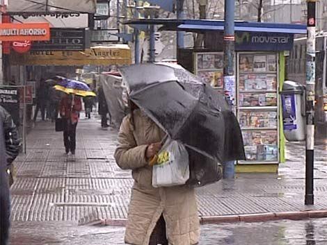 Un martes muy lluvioso y con temperatura máxima de 19º
