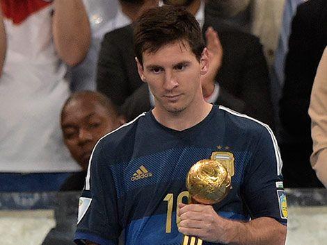 Para la FIFA Lionel Messi fue el mejor jugador del Mundial