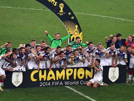 Alemania es el nuevo campeón del mundo