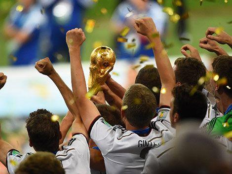Las mejores imágenes de la final del Mundial