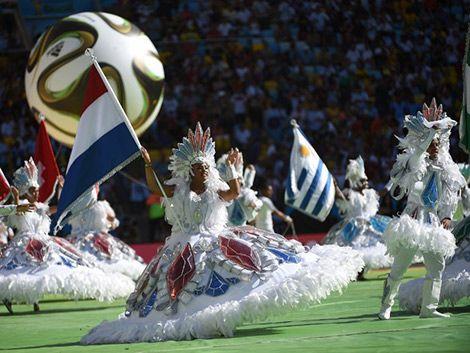 Mundial: ceremonia de clausura corta