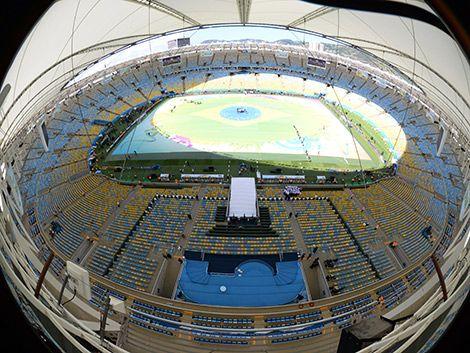 18 minutos duró la ceremonia de clausura en el Maracaná