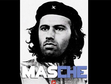 """Argentina le canta al """"comandante Mascherano"""""""