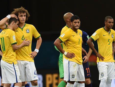 Brasil recibió 10 goles en dos partidos