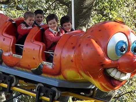 Niño Cero Falta y sus amigos disfrutaron de un día en Montevideo