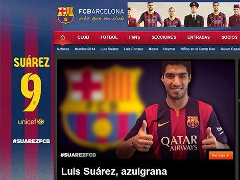 Garantía de gol: así presenta el Barcelona el fichaje de Suárez