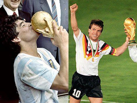 Será la tercera final Alemania - Argentina: ganaron una cada uno