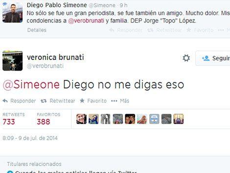 Esposa de periodista fallecido en Mundial se enteró por Twitter