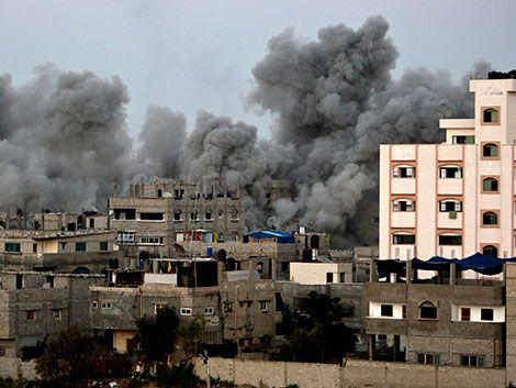 Dos cohetes caen en Israel cerca del reactor nuclear de Dimona