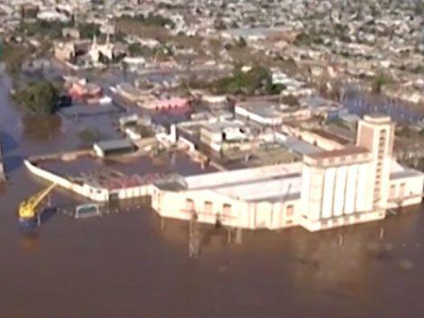 Paysandú: esperan que el agua siga subiendo y haya más evacuados
