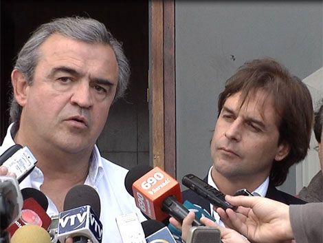 Lacalle Pou y Larrañaga arrancan campaña en el interior