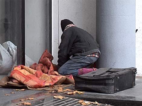 Aumentó la cantidad de gente en los refugios por el frío