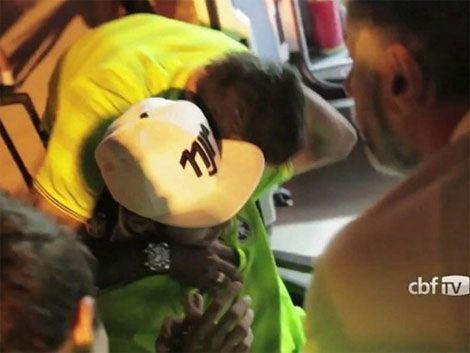 Neymar volvió a la concentración de Brasil