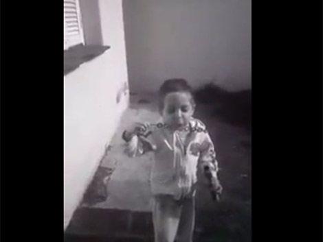 Insólito: el niño argentino que hincha por Brasil