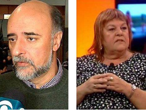 Daisy Tourné y Pablo Mieres