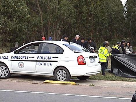 Atlántida: asesinaron a un hombre y lo dejaron al lado de la ruta