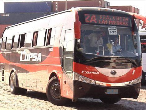Ómnibus de Copsa al borde de la cesación de los servicios