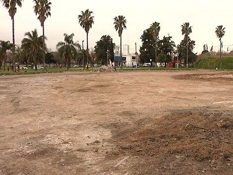 Terminó limpieza del Cilindro; inician obras anexas a Antel Arena