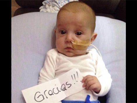 Bebé necesita delicada operación en EEUU y su familia pide ayuda