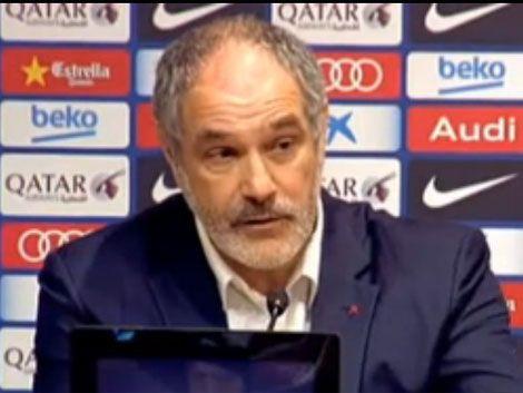 Director deportivo del Barcelona celebra las disculpas de Suárez