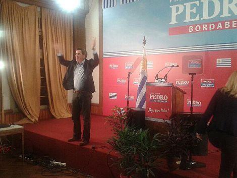 Pedro Bordaberry celebró el triunfo y llamó a debatir