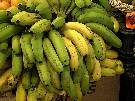 La banana es la fruta más consumida en Uruguay