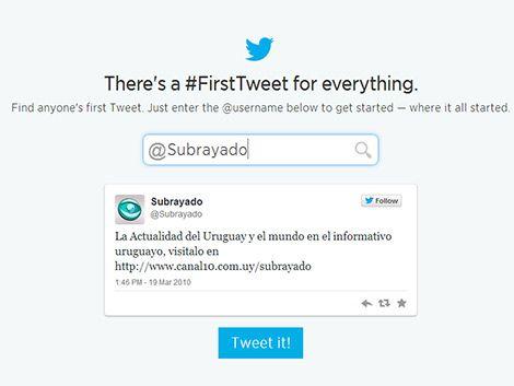 Twitter celebra su cumpleaños recordando el primer tuit