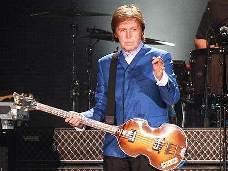 Productores de Paul McCartney recorrieron este lunes el estadio