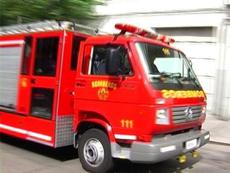 Incendio en un apartamento del Cerrito
