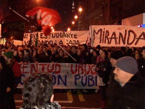 Policía identifica como anarquistas a grupos violentos de ayer
