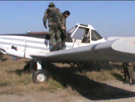 Así capturó la policía la avioneta con 478 kilos de marihuana