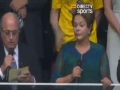 ¿Por que los brasileños silbaron en masa a Dilma Rousseff?