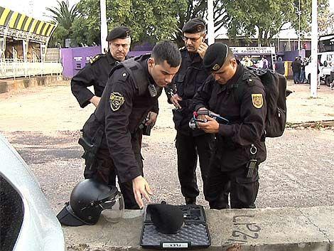 Así fue el operativo de seguridad utilizado en el Franzini