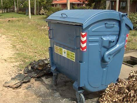 Denuncian vandalismo organizado en quema de contenedores