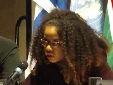 Marcha de las motas contra racismo y la golpiza a Tania Ramírez