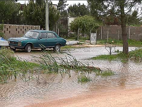 Temporal afectó el 70% de la caminería de Ciudad de la Costa