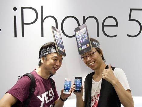 Roban más de 220 iPhone 5 en Japón el día del lanzamiento