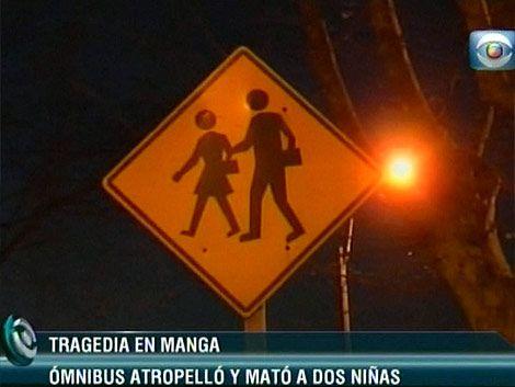 Mueren 2 niñas atropelladas por un ómnibus en la zona de Manga