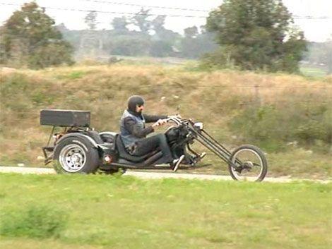 Miguel Angel tiene 35 años y la moto para él es su vida