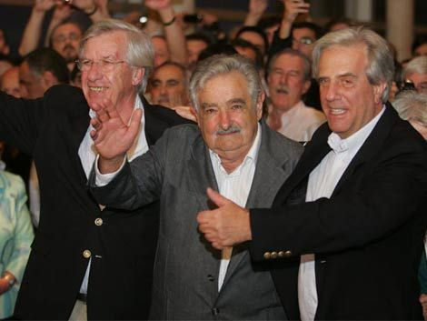 Resultado de imagen para uruguay mujica astori tabare