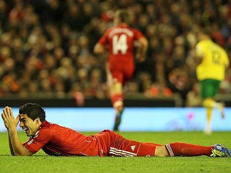 El Liverpool de Suárez arrancó muy mal el campeonato inglés