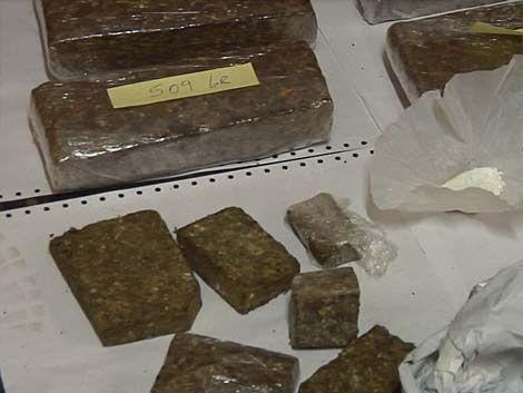 Incautan en Salto más de 72 kilos de marihuana