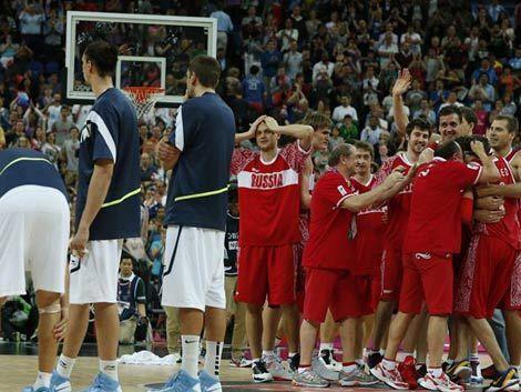 Rusia le quita el bronce a Argentina en basketball