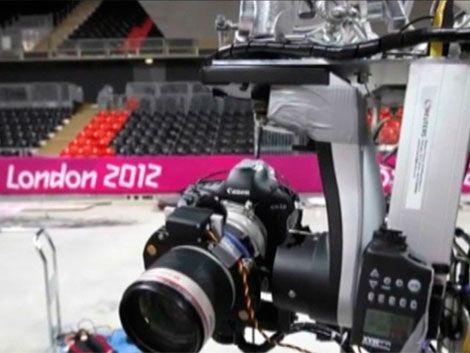 Otra innovación de los JJ.OO. de Londres: cámaras robóticas