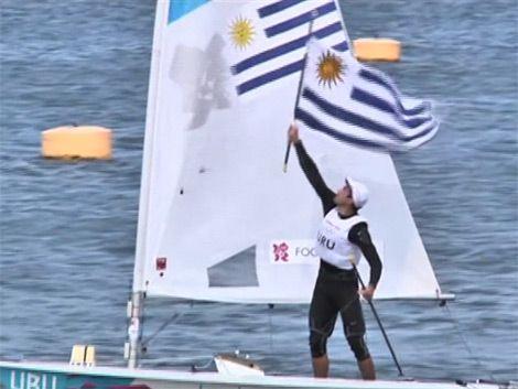 Foglia segundo en la Medal Race: se lleva el diploma olímpico
