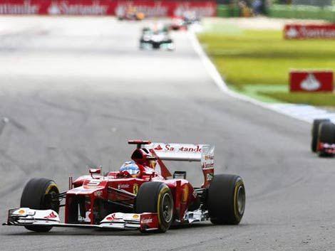 Alonso ganó el Gran Premio de Alemania de Fórmula Uno