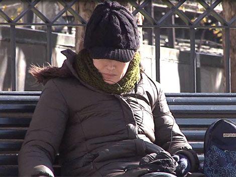 Domingo muy frío con mínimas que no superan los 4º