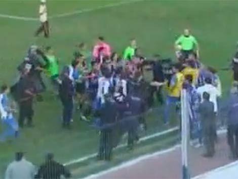 Procesan 11 jugadores por trifulca entre Cerro y Cerro Largo
