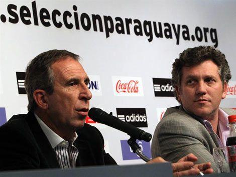 Pelusso ya es el nuevo director técnico de la selección paraguaya